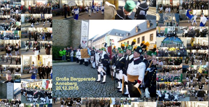 Collage Bergparade Annaberg 2015